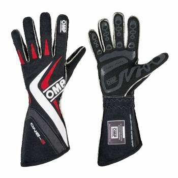 OMP Racing - OMP One-S Gloves - Black - X-Small