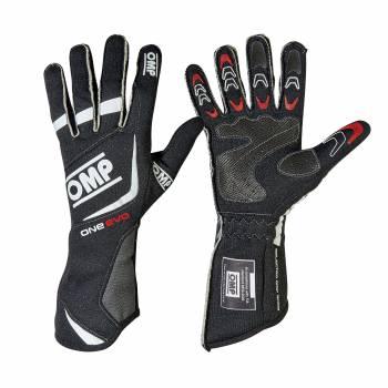 OMP Racing - OMP One EVO Gloves - Black X-Small