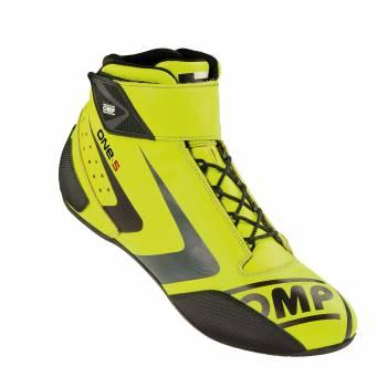 OMP Racing - OMP One-S Shoe - Yellow - 10.5