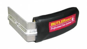 "ButlerBuilt Motorsports Equipment - ButlerBuilt Head Support w/ Support Rod - 4"" - Black - Right Side"