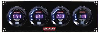 QuickCar Racing Products - QuickCar Digital 3-1 Gauge Panel OP/WT/OT w/Tach