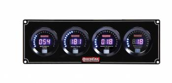 QuickCar Racing Products - QuickCar Digital 3-1 Gauge Panel OP/WT/WP w/Tach