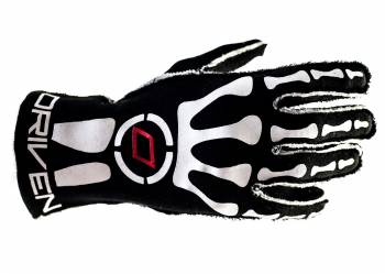 Driven Steering Wheels - Driven Nomex Gloves - Red/Black -XX-Large