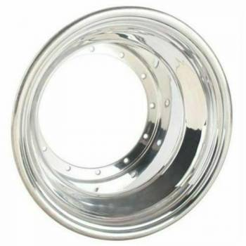 "Weld Racing - Weld Wheel Shell - Outer - 15"" x 11.25"" - Aluminum - Polished"