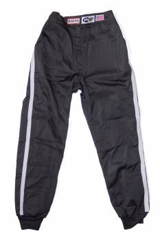 RJS Racing Equipment - RJS Double Layer Nomex® Driving Suit Pants (Only) - Black - Large