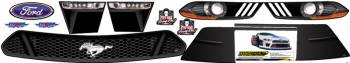 Five Star Race Car Bodies - Five Star 2019 Late Model Ford Mustang Nose ID Kit