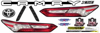 Five Star Race Car Bodies - Five Star 2019 Late Model Toyota Camry Tail ID Kit