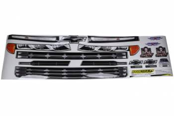 Five Star Race Car Bodies - Five Star 2019 Chevy Silverado Nose ID Graphics Kit