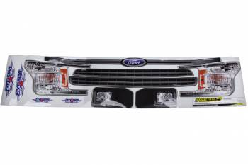 Five Star Race Car Bodies - Five Star 2019 Ford F-150 Nose ID Graphics Kit
