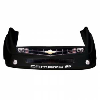 Five Star Race Car Bodies - Five Star Camaro MD3 Complete Nose and Fender Combo Kit - Black (Newer Style)