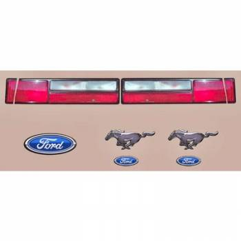 Five Star Race Car Bodies - Five Star Tail Only Graphics Kit - 93 Mustang Mini-Stock