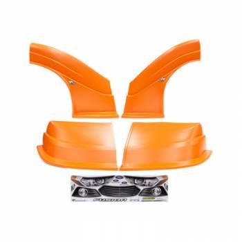 Five Star Race Car Bodies - Fivestar MD3 Evolution Nose and Fender Combo Kit - Fusion - Orange