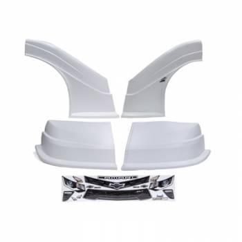 Five Star Race Car Bodies - Fivestar MD3 Evolution Nose and Fender Combo Kit - Camaro - White