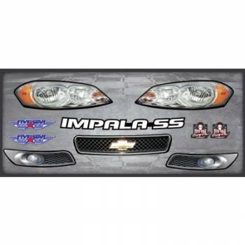 Five Star Race Car Bodies - Five Star Impala Nose Only Graphics Kit