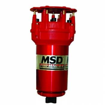 MSD - MSD Pro Mag 44 Amp Generator - CW Rotation - Red - Pro Cap - Band Clamp
