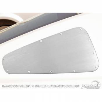 Drake Automotive Group - Drake Automotive Group Quarter Window Cover Satin 10-13 Mustang