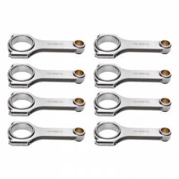 Eagle Specialty Products - Eagle Specialty Products SBC 4340 Forged H-Beam Rods 6.000w/ESP