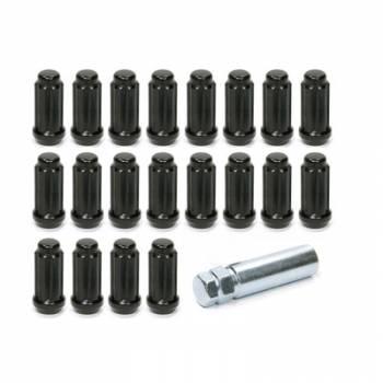 Gorilla Automotive Products - Gorilla Automotive 14mm x 2.0 5 Lug Kit Black
