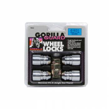 Gorilla Automotive - Gorilla Automotive 4 Gorilla Guard Locks Acorn 12mm x 1.50