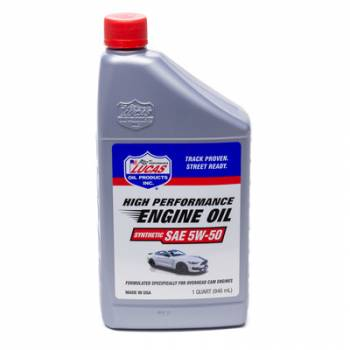Lucas Oil Products - Lucas Oil Products Synthetic SAE 5w50 Oil 1 Quart