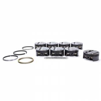 Mahle Motorsports - Mahle Motorsports SBC PowerPak Domed Piston Set 4.155 Bore