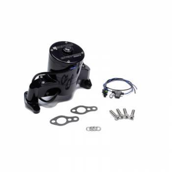 Meziere Enterprises - Meziere Enterprises SBC Billet HD Electric Water Pump - Black