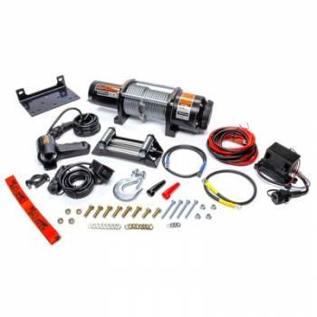 Mile Marker - Mile Marker 5000lb Winch w/Roller Fairlead & 12ft Remote