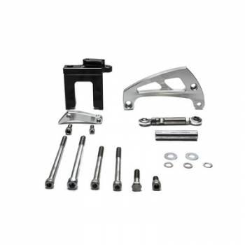 March Performance - March Performance Chevy BB Alternator Brkt Kit Polished