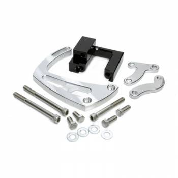 March Performance - March Performance Chevy BB Power Steering Braket Polished