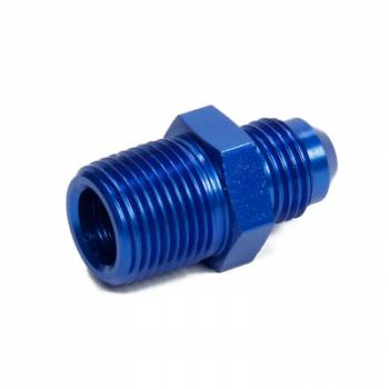 NOS - Nitrous Oxide Systems - Nitrous Oxide Systems (NOS) 6an to 3/8npt Adapter Fitting Blue
