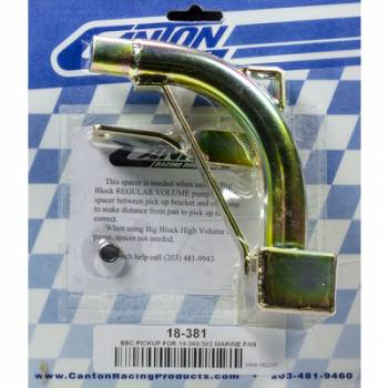Canton Racing Products - Canton Marine Oil Pump Pickup - For (18-380/18-382) Pans w/ Pumps P (M77/M77HV)