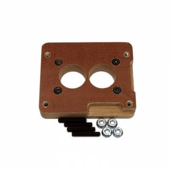 """Canton Racing Products - Canton Phenolic 1"""" Carburetor Adapter - Holley 2 BBL to GM 2BBL Intake"""