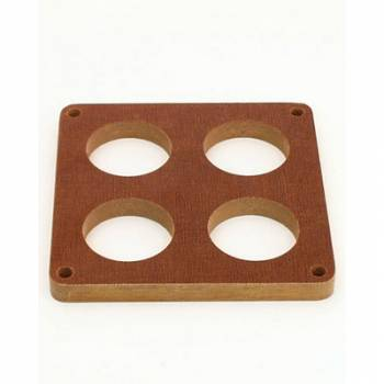 Canton Racing Products - Canton Four Hole Phenolic Carburetor Spacer - Holley 4500