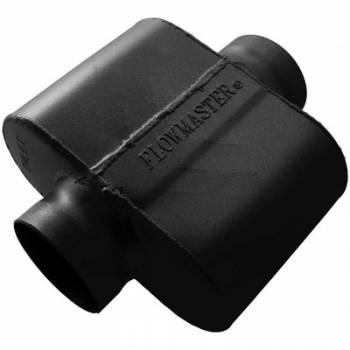 "Flowmaster - Flowmaster 10 Series Delta Force ASA Spec Muffler - 3.5"" Center Inlet, 3.5"" Center Outlet - Aggressive Sound - 6.25"" x 9.75"" x 4.00"""