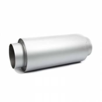 "Howe Racing Enterprises - Howe 10"" 2 Into 1 Muffler - 5"" Steel Core - Ceramic Fiber Packing"