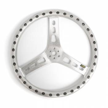 "Joes Racing Products - JOES Lightweight Steering Wheel - Natural - 15"" Flat"