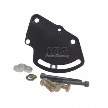 KRC Power Steering - KRC Aluminum Head Mount Power Steering Bracket Kit - Lightweight Hollow Back Design -Chevy