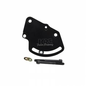 KRC Power Steering - KRC Aluminum Head Mount Power Steering Bracket (Only) - Lightweight Hollow Back Design - Chevy