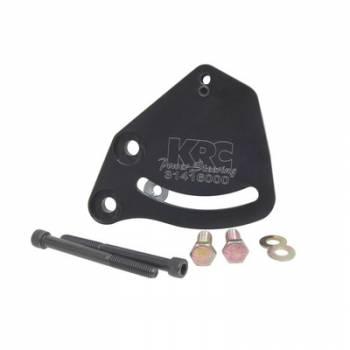 KRC Power Steering - KRC Aluminum Block Mount Power Steering Bracket Kit - Lightweight Hollow Back Design - Chevy