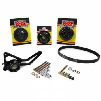KRC Power Steering - KRC Chevrolet 1 TO 1 Pro Series Watert Pump Only Drive Kit with Idler Tensioner