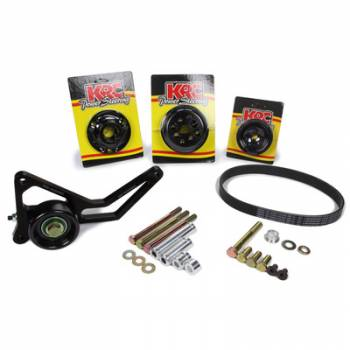 KRC Power Steering - KRC Chevrolet 30% Pro Series Water Pump Only Drive Kit with Idler Tensioner
