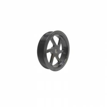 "KRC Power Steering - KRC 4.2"" Serpentine Power Steering Pump Pulley - 6-Rib - (For KRC Cast Iron Power Steering Pumps Only)"