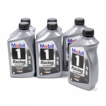 Mobil 1 - Mobil 1 0W-30 Racing Oil - 1 Quart (Case of 6)