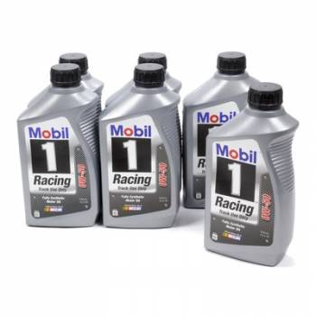 Mobil 1 - Mobil 1 0W-50 Racing Oil - 1 Quart (Case of 6)