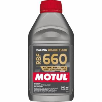 Motul - Motul RBF 660 Factory Line Racing Brake Fluid - 0.5 Liter (Case of 12)
