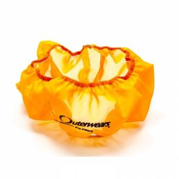 """Outerwears Performance Products - Outerwears Air Filter Pre-Filter Assembly - 14"""" x 4"""" Element - Orange"""