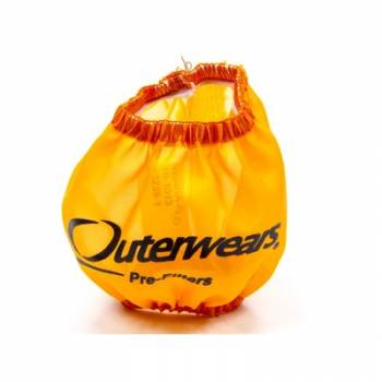 """Outerwears Performance Products - Outerwears 3"""" Non-Shielded Crank Breather Pre-Filter w/o Top - Orange"""