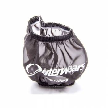 "Outerwears Performance Products - Outerwears 3"" Shielded Crank Breather Pre-Filter w/o Top - Black"
