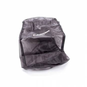 "Outerwears Performance Products - Outerwears Air Box Pre-Filter w/ Top - Black - Rectangle: 19"" L x 7"" W"
