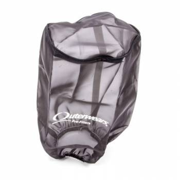 """Outerwears Performance Products - Outerwears Air Filter Pre-Filter - Black -  Round Taper: 6"""" Base Diameter x 5"""" Top Diameter x 9"""" H"""
